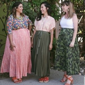 Lularoe Deanne Maxi Skirt